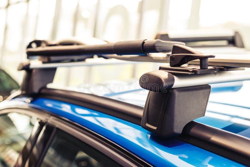 Samochodowy dachowy stojak obrazy royalty free