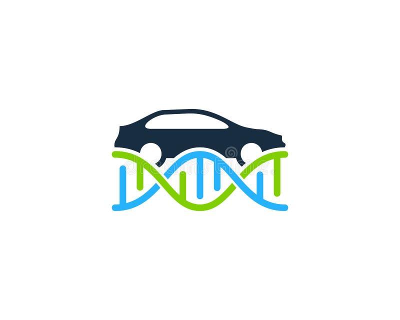 Samochodowy Dna loga ikony projekt ilustracja wektor
