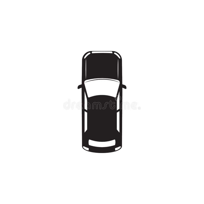 samochodowy eps10 ikony ilustraci wektor Element przewieziony widok od above ikony Jeden kolekci ikona dla strona internetowa roz ilustracji