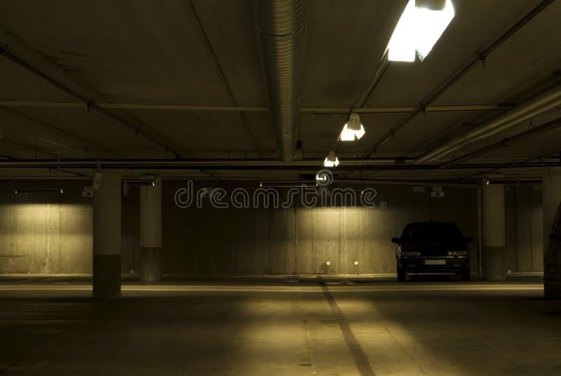 samochodowy garaż obrazy stock