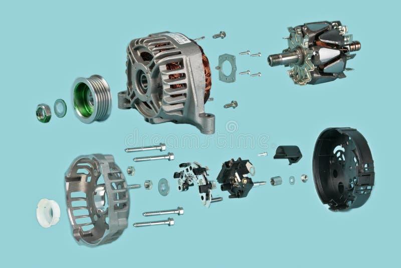 samochodowy generator zdjęcia stock