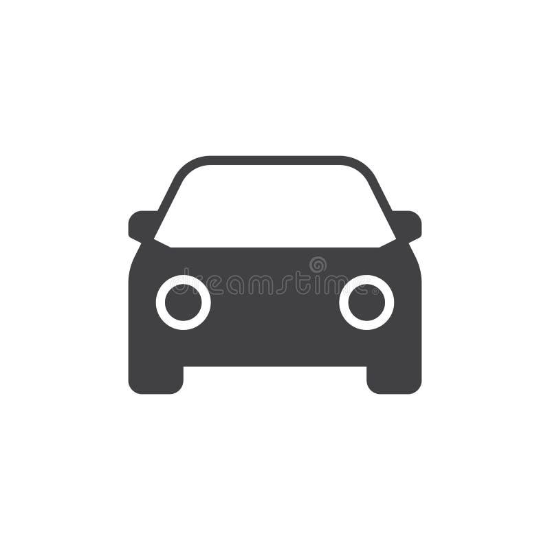 Samochodowy ikona wektor royalty ilustracja