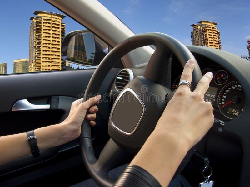 samochodowy jeżdżenie fotografia stock