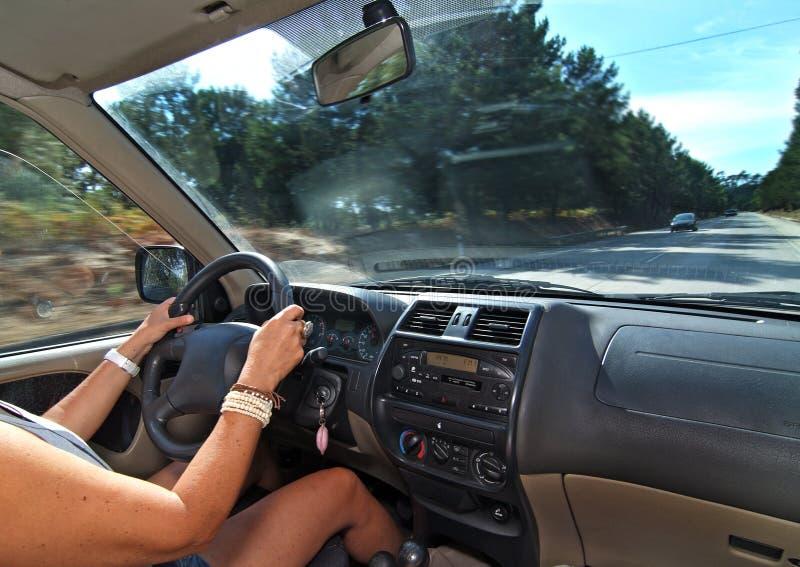 samochodowy jeżdżenie zdjęcie stock