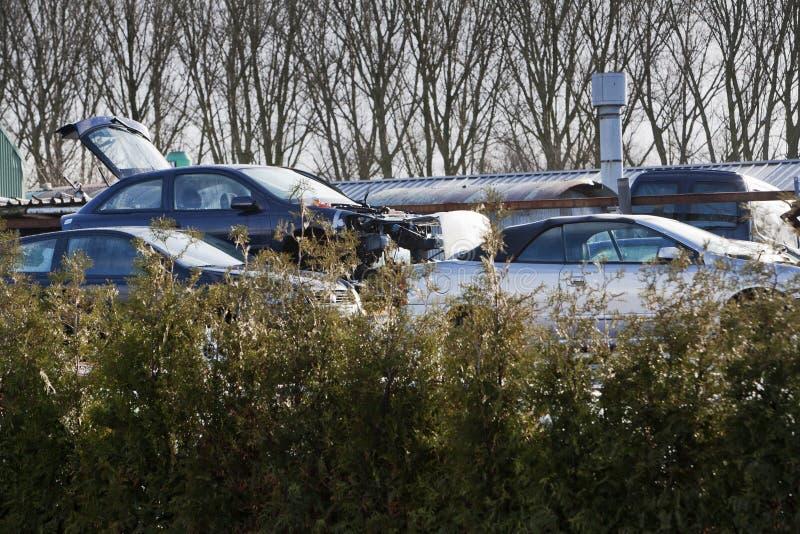 Download Samochodowy Junkyard I środowisko Zdjęcie Stock - Obraz złożonej z metal, heap: 53784468