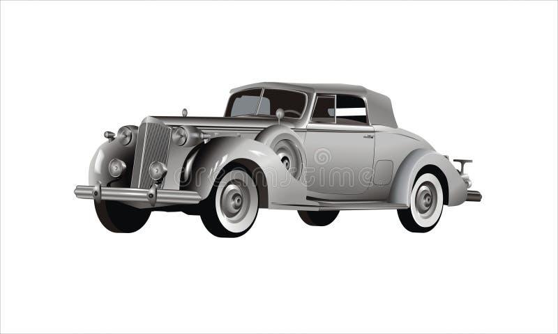 samochodowy klasyk royalty ilustracja