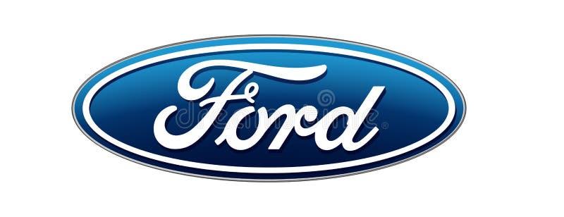 Samochodowy logo artykułu wstępnego wektor royalty ilustracja