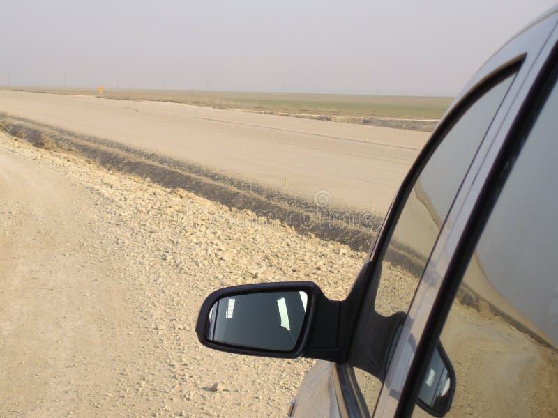 samochodowy lustro zdjęcie royalty free