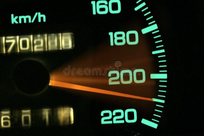 Samochodowy metr obraz stock