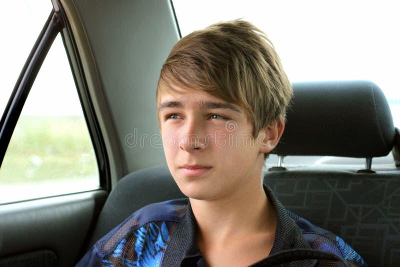 samochodowy nastolatek fotografia stock