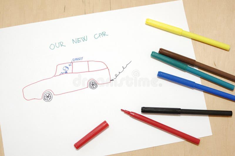 samochodowy nowy nasz zdjęcie royalty free