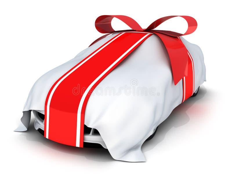 samochodowy prezent ilustracji
