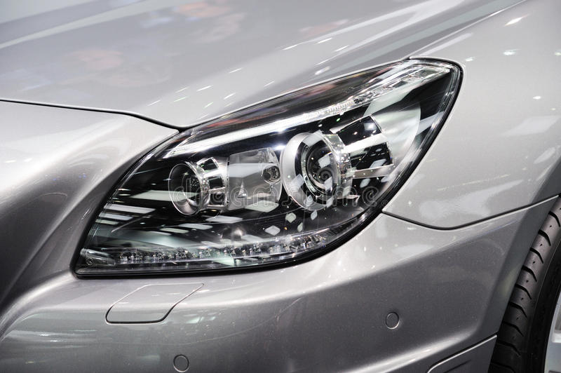 Samochodowy reflektor obraz stock
