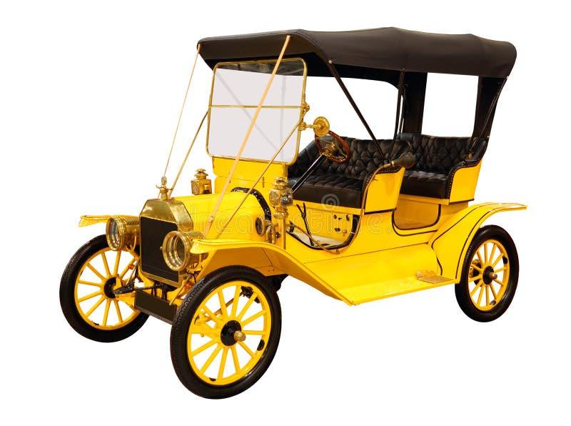 samochodowy retro projektujący zdjęcie royalty free