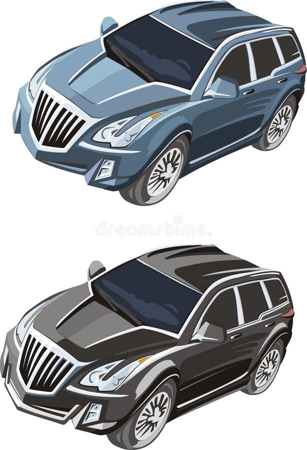 samochodowy rocznik ilustracji