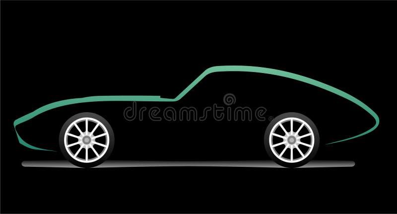 samochodowy silhouete ilustracji