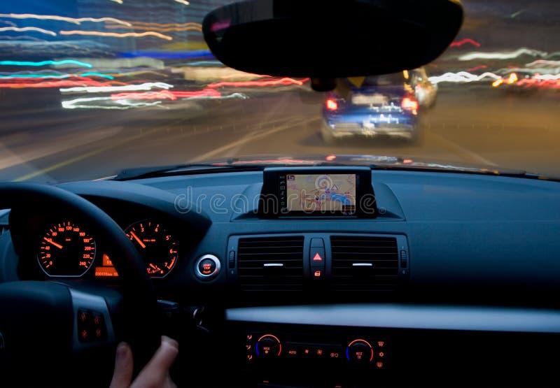 samochodowy szybkiego ruchu chodzenie bardzo zdjęcia stock