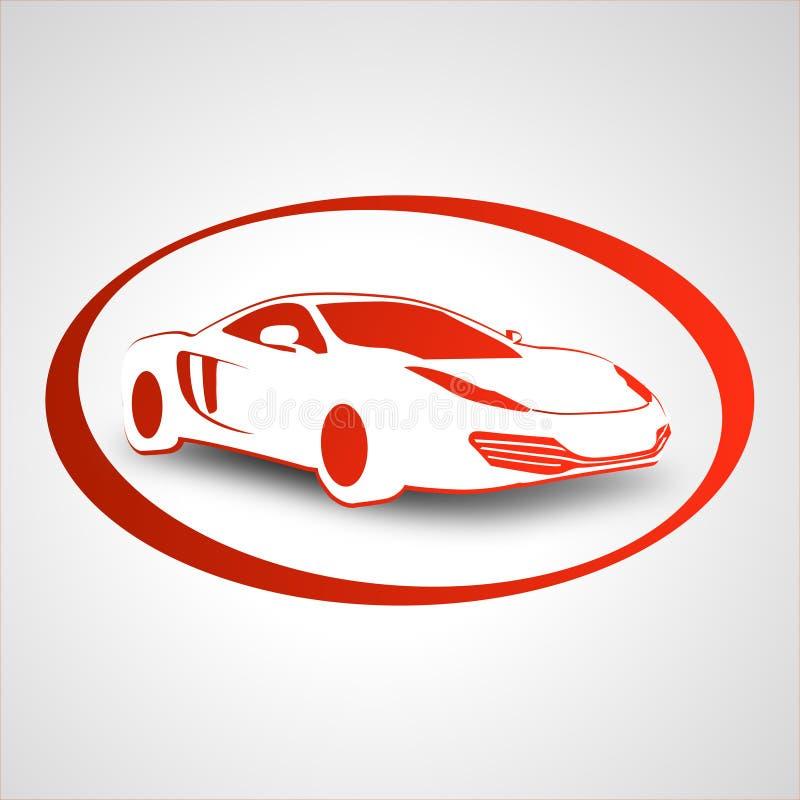 samochodowy target221_0_ loga ilustracji