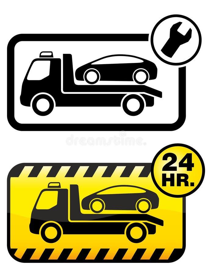samochodowy target1589_0_ royalty ilustracja