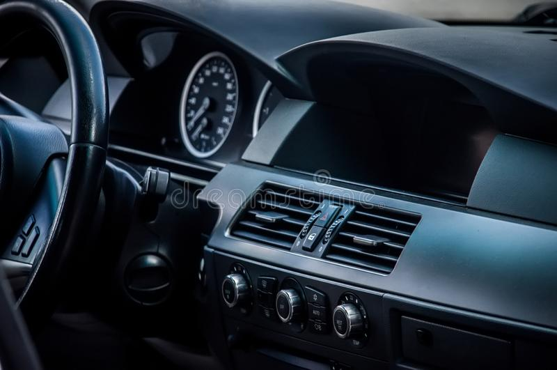samochodowy wewnętrzny nowożytny fotografia royalty free