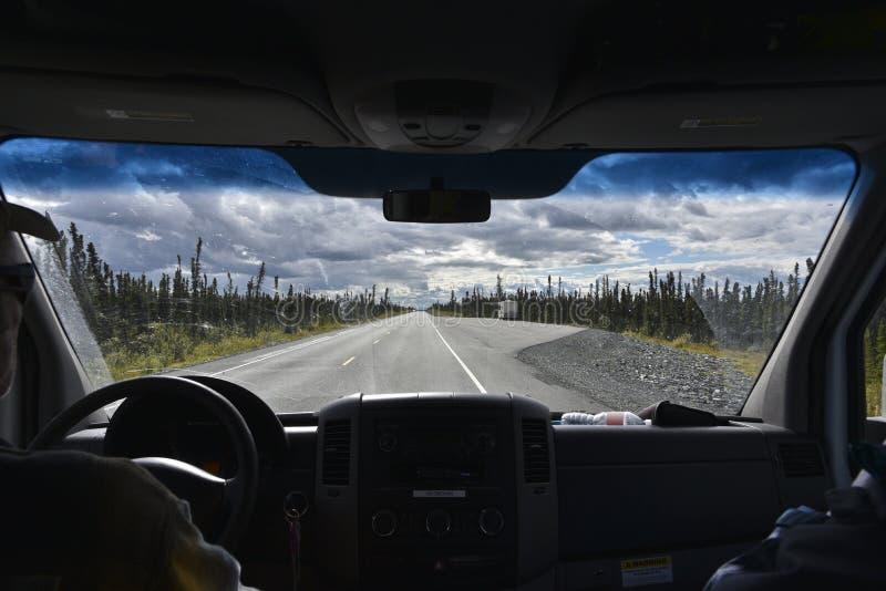 Samochodowy windscreen obrazy royalty free