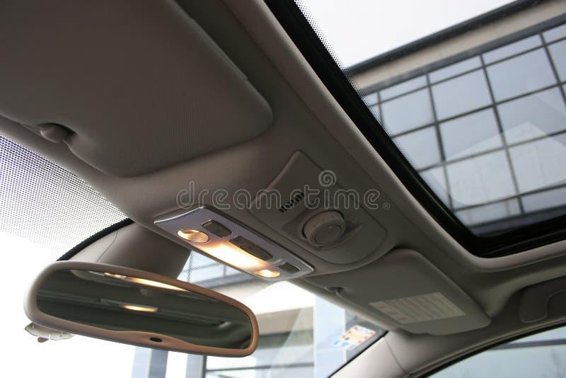 samochodowy wnętrze obraz royalty free