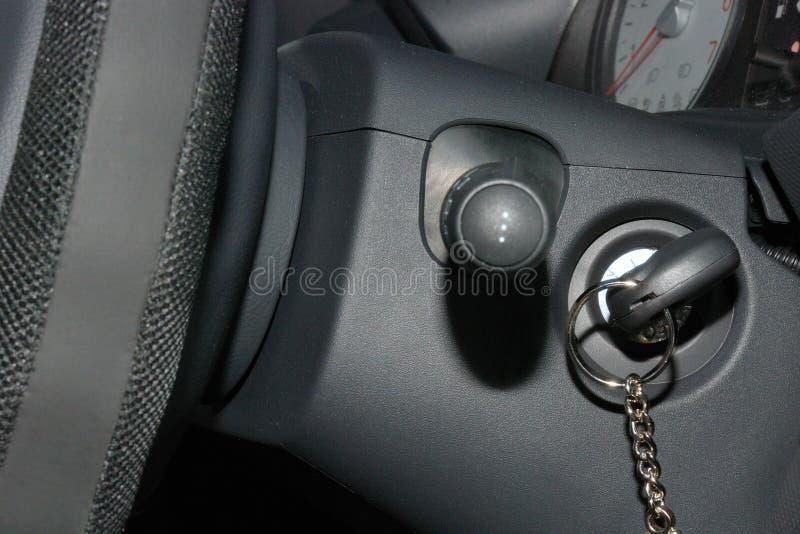 samochodowy zapłonowy klucz zdjęcie royalty free