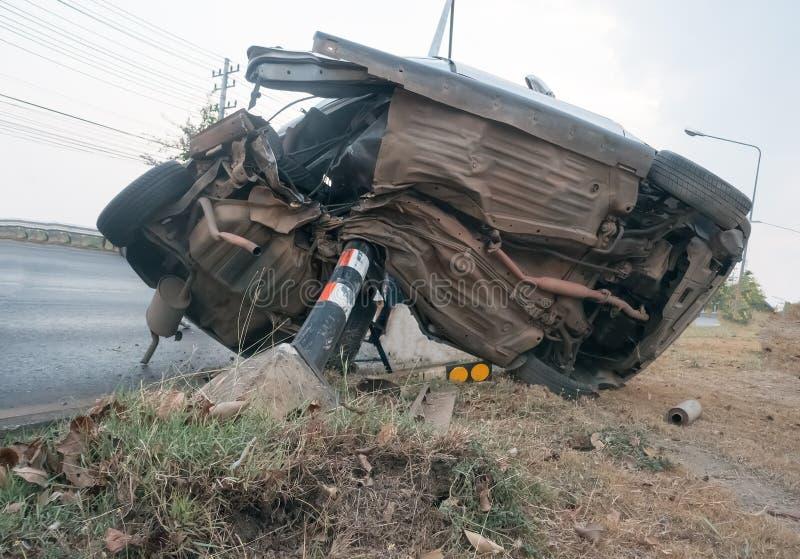 Samochodowy zderzenie obrazy stock