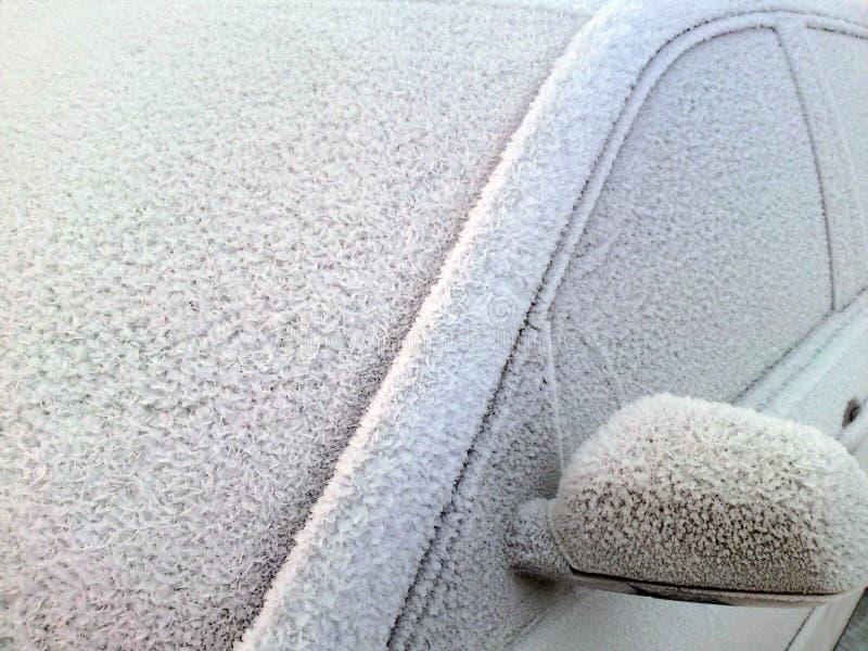 samochodowy zimno zdjęcie stock