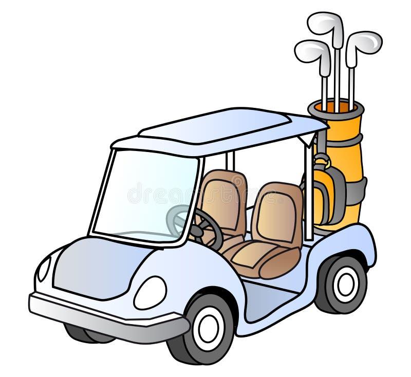 samochodu golf ilustracji