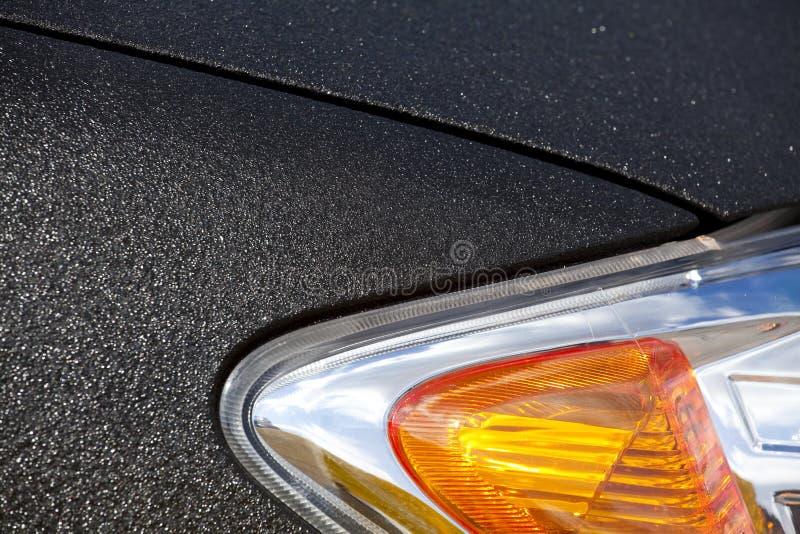 samochodu kierowniczy lampy silnik obraz stock