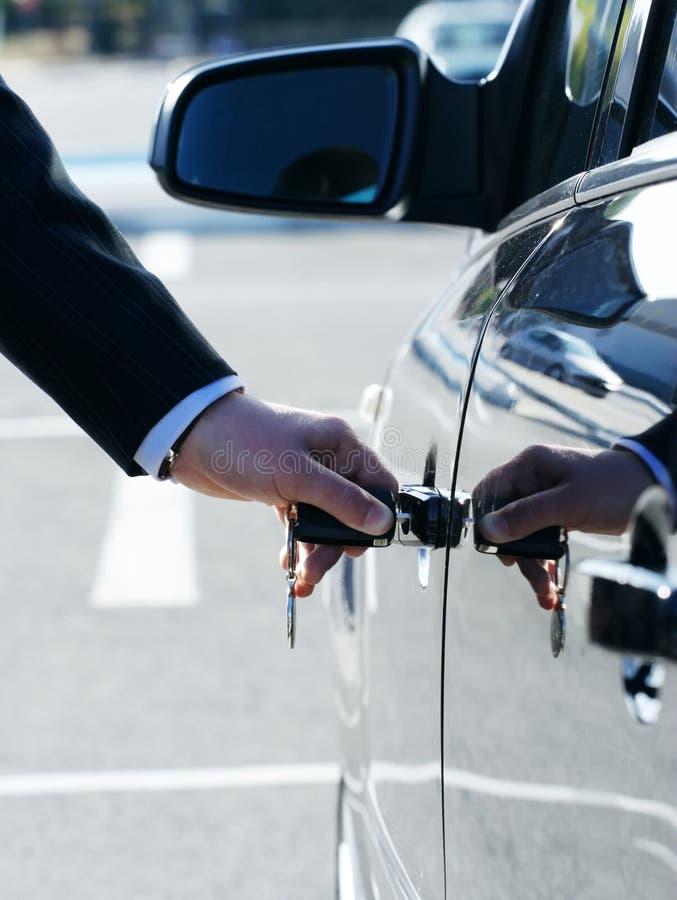 samochodu nowy kluczowy obrazy stock