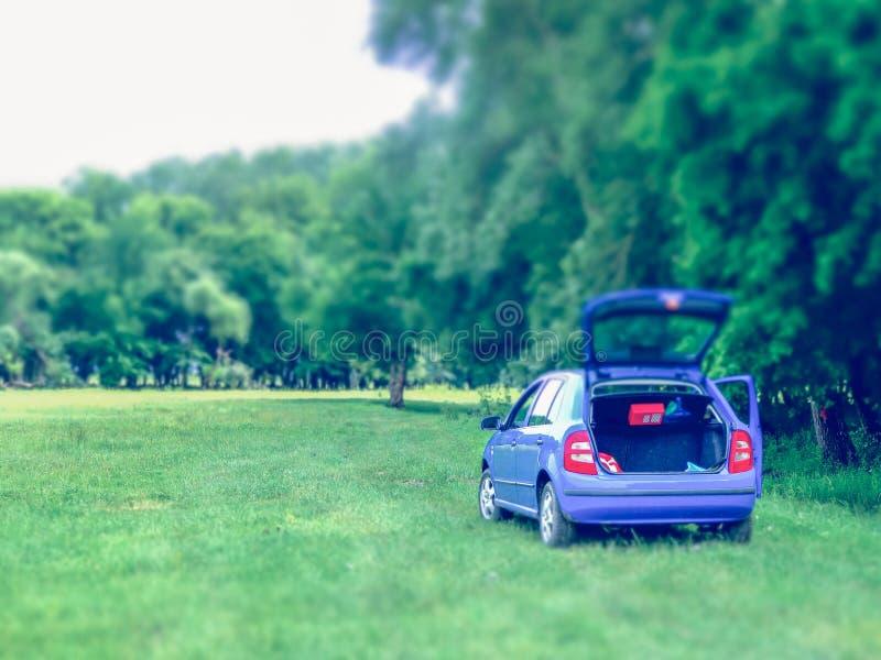 Samochodu odpoczynku przerwa obrazy stock