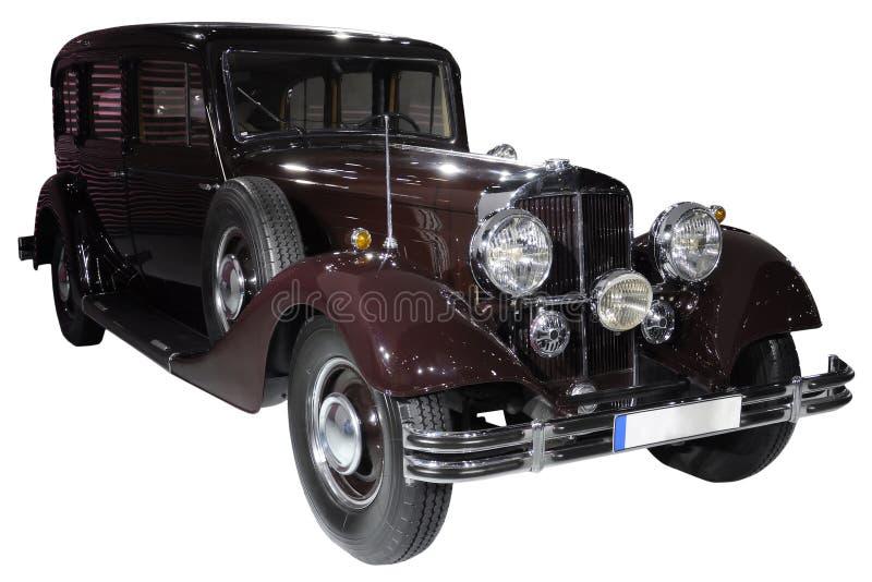 Download Samochodu Retro Odosobniony Obraz Stock - Obraz: 18788055