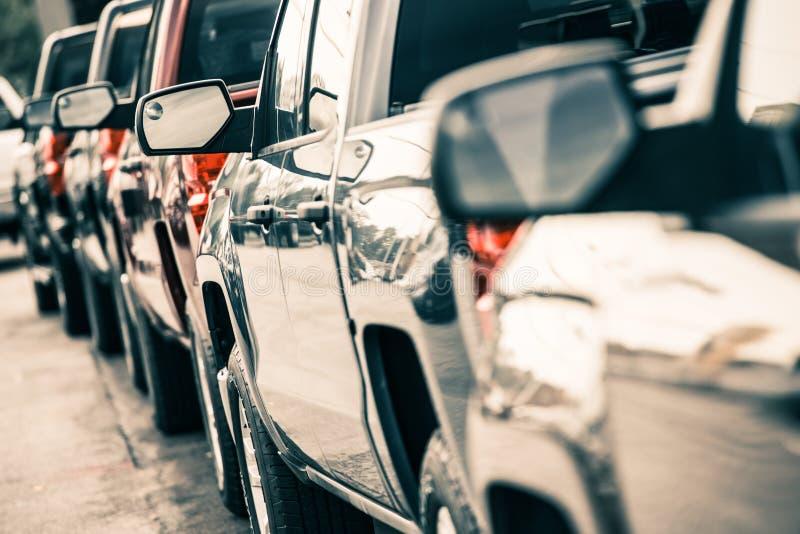 Samochodu ruch drogowy obrazy stock