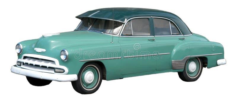 samochodu samochodowego klasyka odosobniony rocznik zdjęcia royalty free