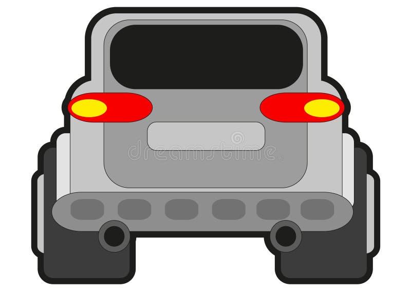samochodu wiec royalty ilustracja