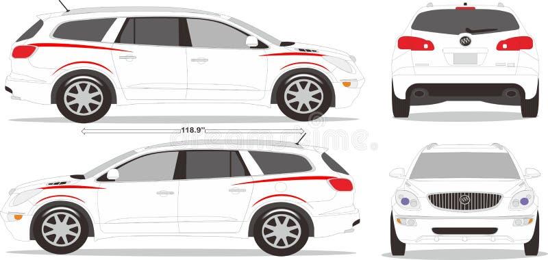 Samochodu wymiaru styl fotografia stock