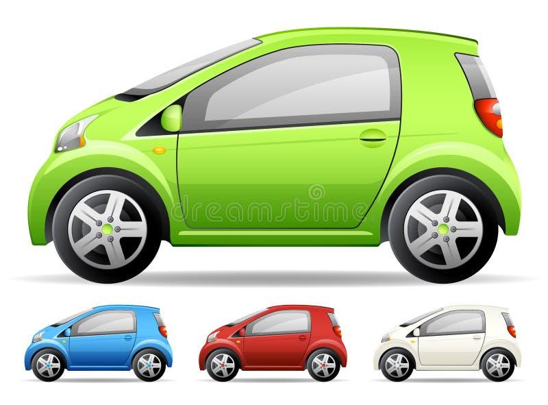 samochodu zielony mały royalty ilustracja