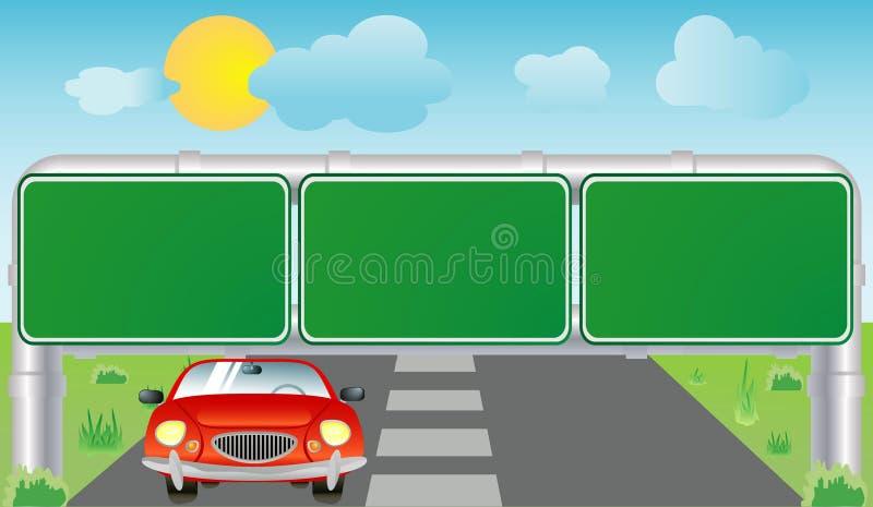 samochodu znak ilustracji