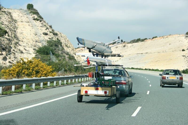 samochody drogowi zdjęcie stock