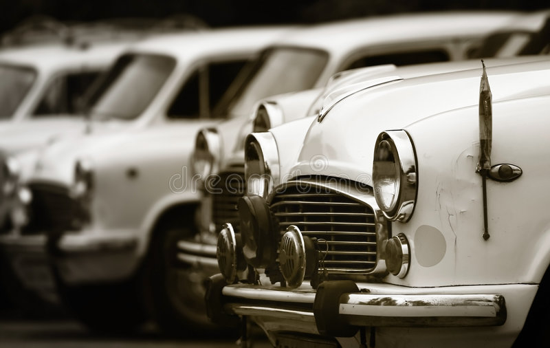 samochody klasyczni zdjęcie stock