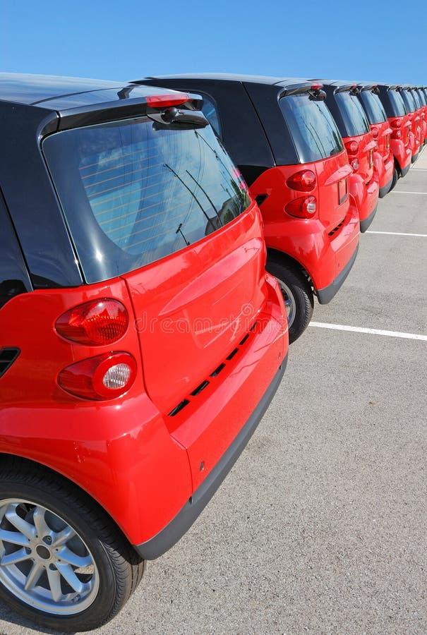 samochody nowi fotografia stock
