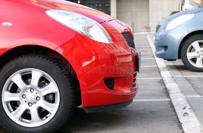 samochody nowi dwa zdjęcie royalty free