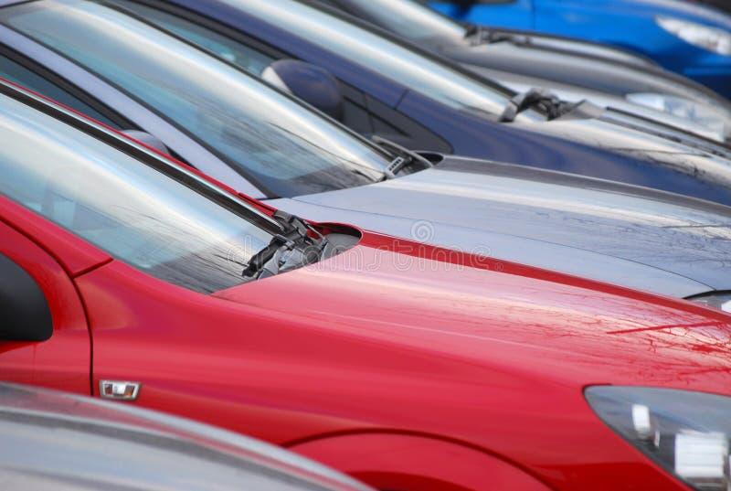 samochody parkujący zdjęcie stock