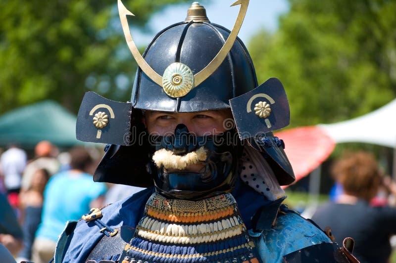 Samoeraien royalty-vrije stock foto's