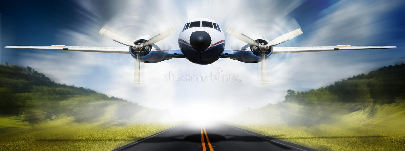 samolot fotografia royalty free