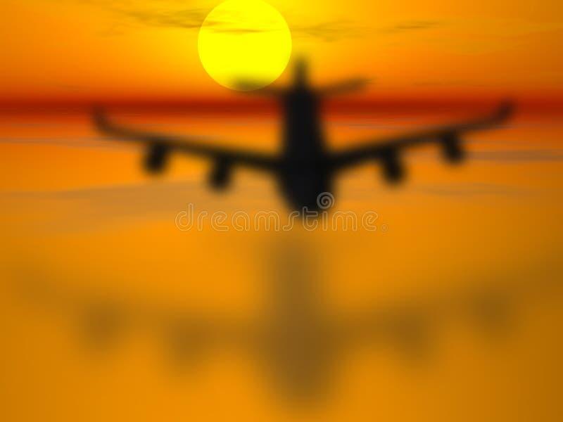 samolot. zdjęcia stock