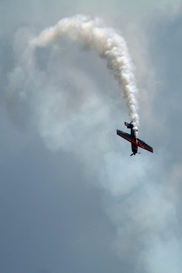 samolot akrobatyczny obraz royalty free