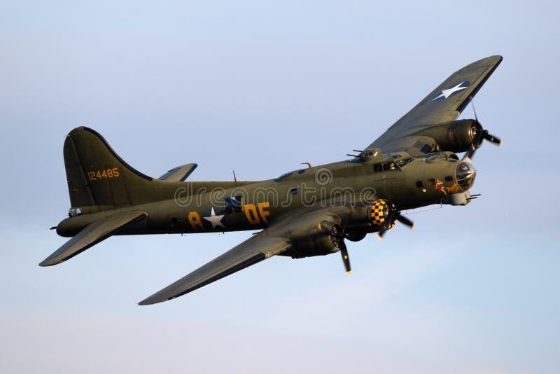 Samolot bombowy Boeing B-17 zdjęcia stock